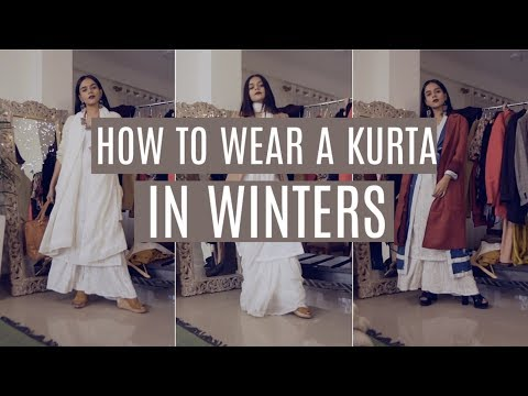 Xxx Mp4 How Every Girl Can Wear A Kurta In Winters कुर्ता Komal Pandey 3gp Sex