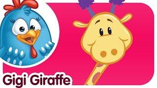 Gigi Giraffe - Lottie Dottie Chicken - Kids songs and nursery rhymes in english