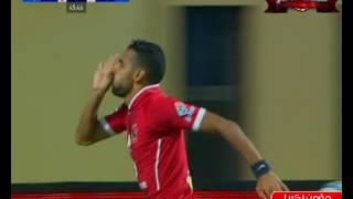 مؤمن زكريا يسجل هدف الأهلي الأول في مرمى أسوان