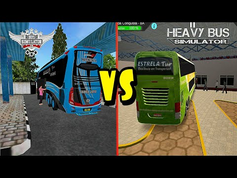 Xxx Mp4 Top 2 Android Games Bus Simulator Indonesia BUSSID VS Heavy Bus Simulator Best Of The Best 3gp Sex