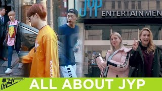 EP.1 Tour Girls | We Saw GOT7 and 2PM at JYP Building