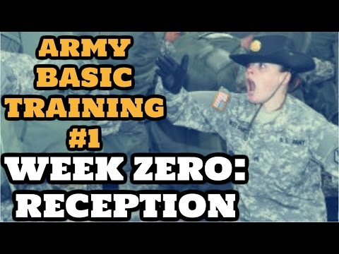 watch WHAT TO EXPECT IN ARMY BASIC TRAINING: WEEK ZERO