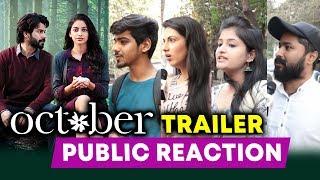 OCTOBER Trailer Public Reaction | Varun Dhawan | Banita Sandhu | Shoojit Sircar