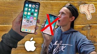 EVERYTHING WRONG WITH THE iPHONE X!