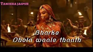 Padmaavat Song Padmavati Holi Full Video Song Deepika Padukone