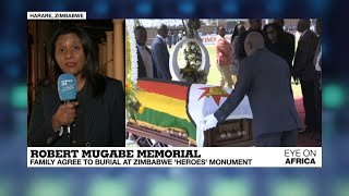 Robert Mugabe's burial delayed by 30 days