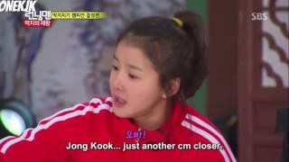 The happiest kim jong kook has been in running man.