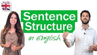 Struktur Kalimat Bahasa Inggris - Pelajaran Tata Bahasa Inggris