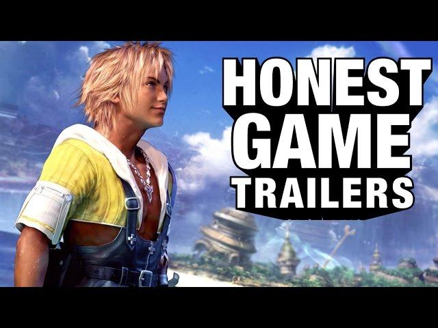 FINAL FANTASY X (Honest Game Trailers)