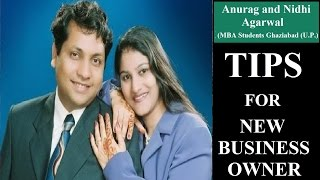 Anurag Suggestions for New Business Owners || For Ambitious Pelople