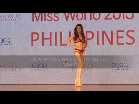 HD Miss World Philippines 2013 Press Presentation Swimsuit