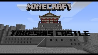 Minecraft Takeshi's Castle: Trailer+Intro Forumsevent von minecraft.de