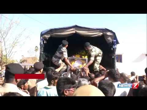 Xxx Mp4 Tirunelveli BSF Jawan Who Died In Jharkand Laid To Rest News7 Tamil 3gp Sex