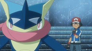 Ash vs Wulfric | [FULL GYM BATTLE] - Pokemon XY&Z Episode 27