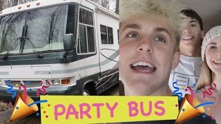 PICKING UP GIRLS IN A GIANT RV (Impromptu Party Bus)