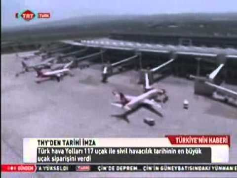 TRT TÜRK AIRBUS - THY 117 UÇAK SİPARİŞİ BASIN TOPLANTISI