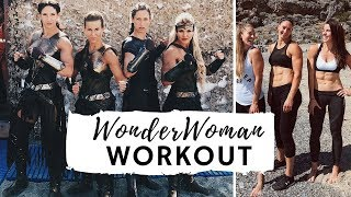 WONDER WOMAN WORKOUT   TRAINING WITH THE AMAZONS!