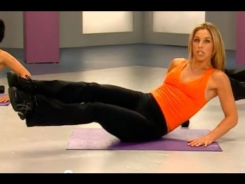 5 Minute Waist Slimmer Workout with Denise Austin