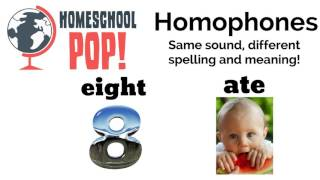 Learn the Homophones | Classroom Video for Kids