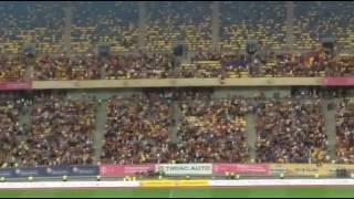 Imnul ROMANIEI in meciul cu GEORGIA filmat de un