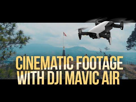 5 Tips Drone Shots dengan DJI Mavic Air