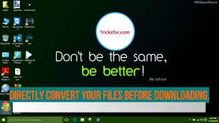 How to convert a file before downloading  or download a file directly in your cloud storage.