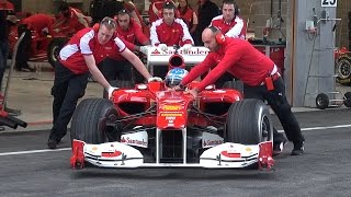BEST OF FERRARI FORMULA 1 - V8, V10 and V12!