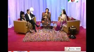 Dr  Shamim with singer Mila & Eva Rahman