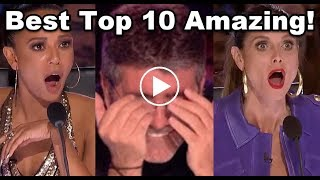 The Best Top 10 AMAZING FIRST AUDITIONS   X Factor UK 2017