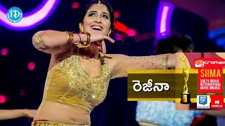 Regina Cassandra Dance Performance for A R  Rahman Songs @ SIIMA 2014