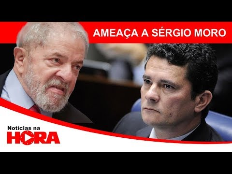 Lula ameaça moro e recebe resposta á altura.