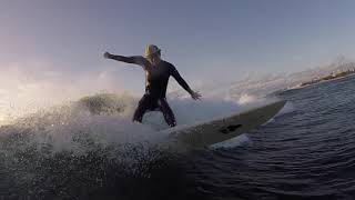沖縄サーフィン / 波は小さいけど人も少なくファンサーフな1日