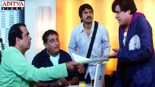 Brahmanandam Interview Comedy Scenes In Rakhwala Pyar Ka Hindi Movie