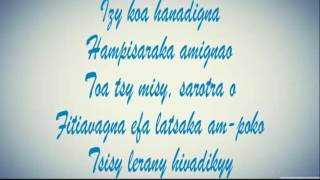 Dadi-love : Tsy atakaloko [ Lyrics / Parole ]