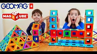 Geomag Color Magnetic Construction Building PlaySet Toy Review