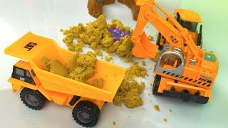 Play Doh play Scuderia Wheeled Excavator - truck toys & Construction Toys - DisneyToysReview