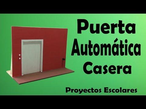 Proyectos puerta autom tica casera muy f cil de hacer - Proyecto puerta de garaje ...