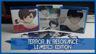 Anime Unboxing | Terror In Resonance Limited Edition [blu-ray/dvd combo] 2016