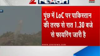 Pakistan violates ceasefire; exchanges unprovoked firing overnight along LoC in Poonch
