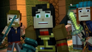 4 Minutes of Minecraft Story Mode Season 2 - E3 2017