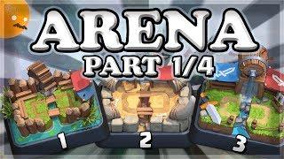October Arena Challenge 1, 2, 3 | Clash Royale | Part 1/4 🍊