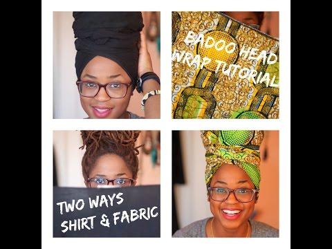 Two-Way Badoo Head Wrap Tutorial