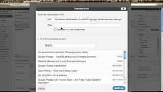 How To Create Links DebTheWeb Shows How To Create Links
