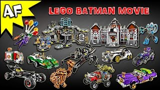 Every Lego Batman Movie Set - Complete 2016 Collection!