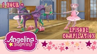 Angelina Ballerina - Full Episode Compilation - Angelina's Sleepover & Angelina's Lost Ice Skates