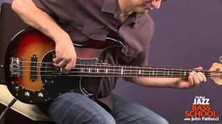 Bass Guitar Lessons with John Patitucci: Blues On The Bottom Play Along