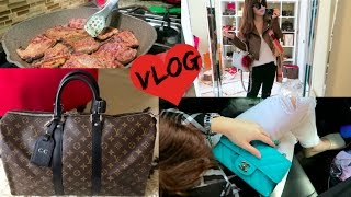 What HAPPENED to my LV Keepall (Unboxing), OOTDs, Making Korean BBQ!