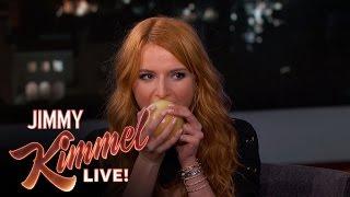 Bella Thorne Eats an Onion