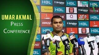 PSL 2017 Match 14: Umar Akmal Press Conference