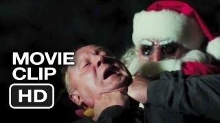 Silent Night Movie CLIP - Santa Attacks (2012) - Killer Santa Claus Movie HD